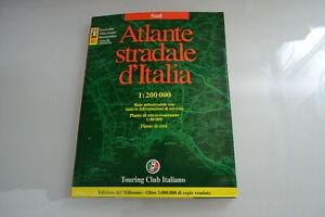 Atlante stradale d'Italia Touring Club SUD