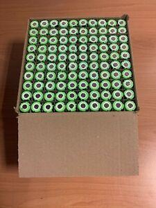 100x ensayos realizado a batería, celdas de litio-ion Panasonic PF, 90-100% cap