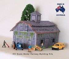 HO Scale Model Train Barn for sale | eBay