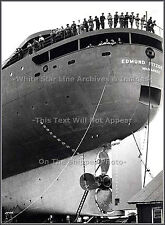 Photo: The Stern Of SS Edmund Fitzgerald On Launch Day, 1958