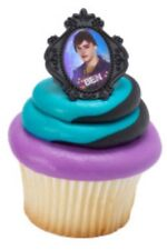 Descendants Cupcake Toppers Rings - Birthday Party Supplies Favors - Set of 24