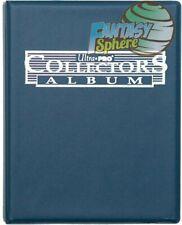 Album Ultra Pro Collector Portfolio classeur A4 pour 90 / 180 cartes Bleu 81367