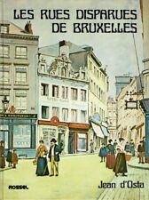 Les rues disparues de Bruxelles | Jean d'Osta | 1979