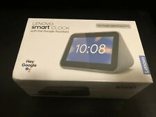 Lenovo - Smart Clock with Google Assistant - New - Factor Sealed
