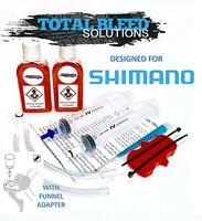 * TBS Shimano Road Bike Bleed Kit with Funnel Adapter + Fluid * ULTEGRA Dura Ace