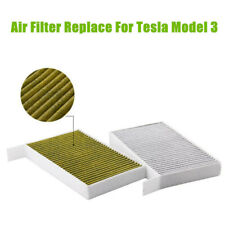 Air Conditioning Filter With Activated Carbon Kit For Tesla Model 3 2017-2019