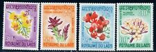 Laos 1967 Flowers MNH