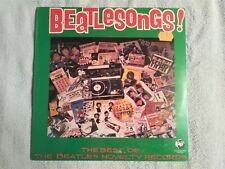 Original Beatles 1982 Beatlesongs lp with Rare Revised Cover Still Sealed