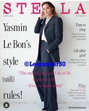 The Sunday Telegraph STELLA  MAGAZINE Yasmin Le Bon 13/6/2021 New