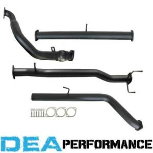 """Mazda BT50 2.5L 3L Manual 2006 to 2011 - 3"""" Exhaust System with Pipe Only"""