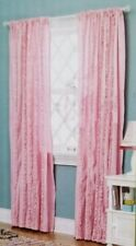 "Circo Pink Ruffle Window Panel 54"" x 84"" NIP"
