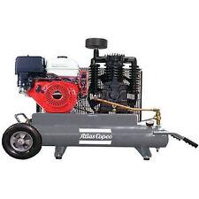 Atlas Copco 9-HP 10-Gallon Two-Stage Gas Wheelbarrow Compressor w/ Honda Engine