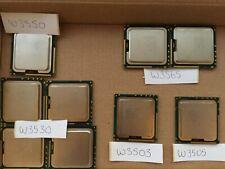 JOB LOT OF CPUS - W3550 - W3530 - W3565 - W3503 - W3505 - X9 XEON CPUS