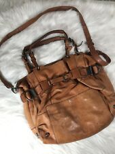 Kooba womens Cross Body Brown Leather Handbag