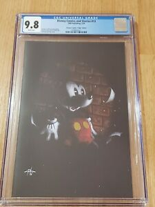 DISNEY COMICS AND STORIES 13 GOLD FOIL VIRGIN VARIANT CGC 9.8 DELL'OTTO HOT