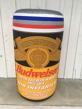 Vintage Large Inflatable Hanging Budweiser Beer Can 1996 Olympics Atlanta Sign