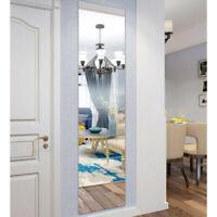 16x Spiegel Folie Selbstklebende Wandspiegel Dekorative Fliesen 15 x 15 cm