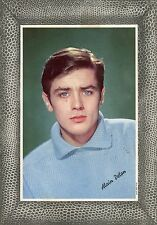 ALAIN DELON 60s CARTE PHOTO CARD VINTAGE