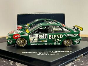 RARE 1/43 Renault Dealership Edition. Renault Laguna Nescafe Blend 37 Alain Menu