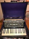 Beautiful Vintage 1950's Accordion Made In Italy  W/Case