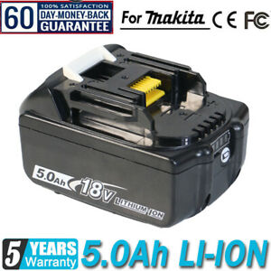 2021 For Makita BL1850 1PACK 18v 5.0ah LXT Li-ion Battery with star New BL1860