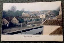 CPA. CLAYE SOUILLY. 77 - Panorama. Couleur. Attelages.