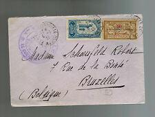 1926 Morocco  cover to Belgium