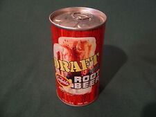 CANFIELD'S DRAFT ROOT BEER CAN SODA METAL PULL TAB ALUMINUM TOP BO ORIGINAL
