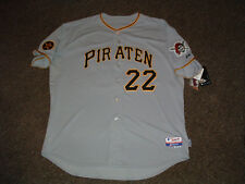 ANDREW MCCUTCHEN #22 PIRATES 2011 'PIRATEN' AUTHENTIC BASEBALL JERSEY sz 56 NWT