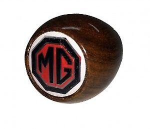 New Gear Shift Knob for MGA and MGB MG Midget 1955-1976 Wood with MG Logo