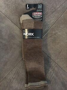 Darn Tough Work Socks Sand 2003 Merino wool Mens sz XL 12.5-14.5