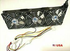 PCIe 3-fan Cooler for GPU 4-pin and Molex