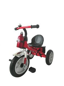 Kids Trike Ride On Pedal Tricycle Children Kids Smart Design 3 Wheeler - Red UK