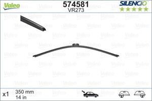 Valeo Silencio Wiper Blade Rear VR273 574581 fits Volkswagen Touareg 3.0 V6 T...