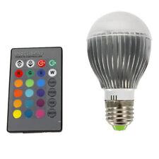 9W 16 Selectable Colors LED Standard Base BULB LAMP Flashing Party DJ Light Show