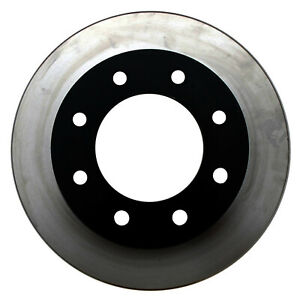 Disc Brake Rotor-Black Hat Front ACDelco Pro Brakes 18A927