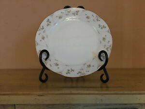 Premiere White Floral Design Briarwood Pattern ME 212 China Replace Salad Plate