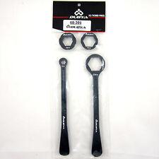 Dubya Lever Set Combo Axle Tire Wrench Black 10 12 22 27 32 Honda Yamaha Suzuki