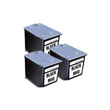 """3x cartucho ink-m40 """"ProSerie"""" para Samsung fax 330 sf330"""
