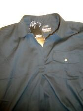 Barbour International Stretch Cotton Black Pullover Shirt NWT USA size 6 $129