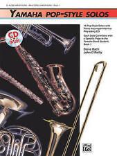 Yamaha pop-estilo solos: Saxo barítono saxo alto/, libro y CD por Steve Bach,...