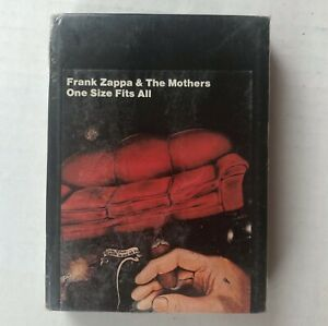 FRANK ZAPPA & THE MOTHERS One Size Fits All 1975 FACTORY SEALED 8-Track Tape