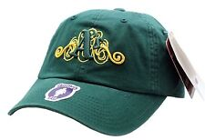 Oakland A's Ladies Green Swirl Logo Buckle Back Cap - B27