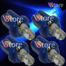 4 LED T5 B8.5D BLU Lampade Lampadine Luci Per Cruscotto Quadro Strumenti W5 12V