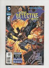Detective Comics Annual #1 - New 52 Black Mask Batman - (Grade 9.2) 2012