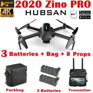 Hubsan Zino PRO FPV APP Drone Foldable Quadcopter W/4K Camera 3Gimbal+2Battery
