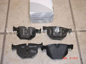 BMW E60 E61 Genuine Rear Brake Pads,Pad Set 530i 525i 525xi 530xi 535xi NEW OE