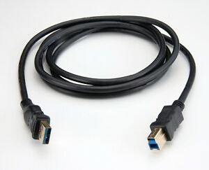 6ft Gold-Plated USB 3.0 Type A Male to B Male Cable for Printer Scanner Camera