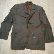MENS  new GREY PINSTRIPE Suit JACKET Office JOHN LEWIS Daniel Hechter  38S