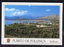 Posted c1990s from UK: View of Puerto de Pollenca: Mallorca